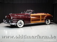 Chrysler Town and Country 2 door Convertible \'48